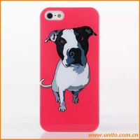 Animal PC case for iPhone 5 with pet pattern