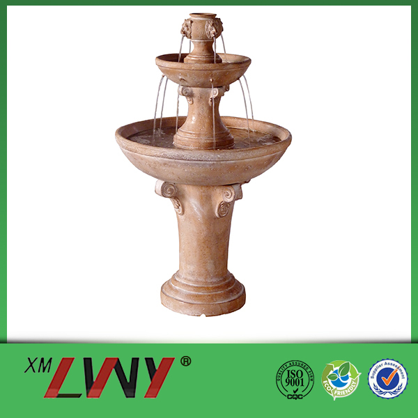 38-inch 2 Tier outdoor garden decorative water features