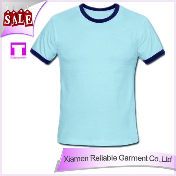 100% cotton wholesale t shirts cheap t shirts in bulk plain from China supplier