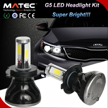 360Degree 4/PCS LEDS 8000LM H4 led headlight dodge journey fiat freemont