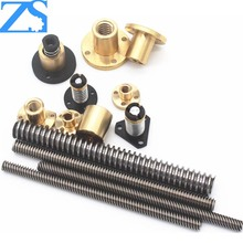 Cheap price lead screw with trapezoidal thread 10mm