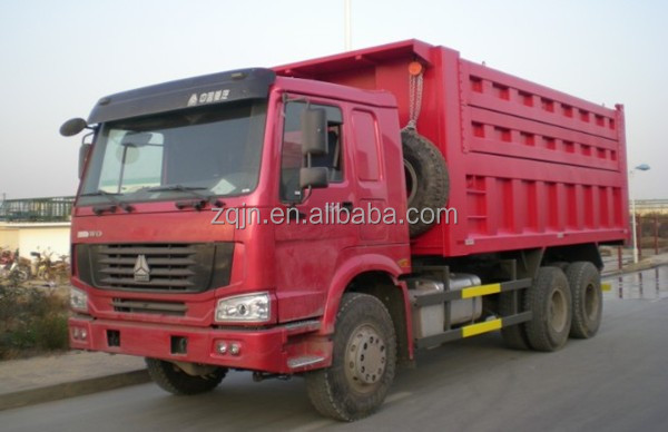 Hot Sale Sino Truk HOWO 6X4 10 Tires Dump Truck