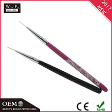 2017Factory Cheap Price Silicone Gel Pen UV Nail Art Brush
