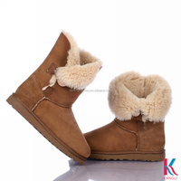 Lady bailey button new model half snow boots girl and animals sex