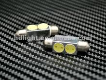 39MM c5w 2W led hig power festoon bulbs smd top light canbus auto bulbs