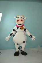 HI animal adult milk cow mascot costume custom made for sale for adults