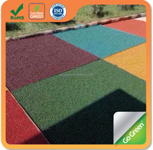 Go Green Colorful asphalt prices for red, yellow, green, blue