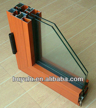 Best sell in 2013 window and door aluminum profile for decoration