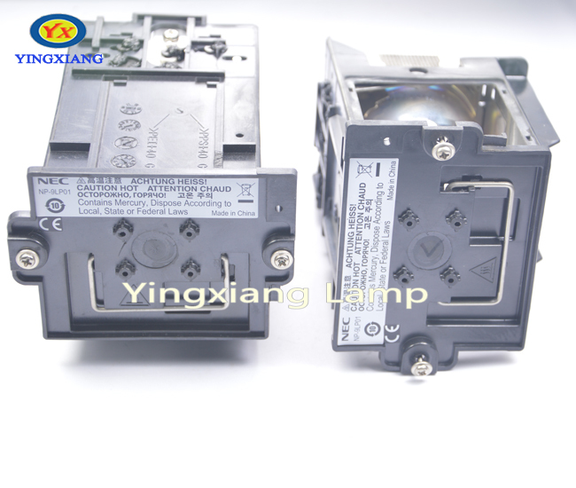 3PCS projector lamp with housing NP-9LP01 For NEC NC900C projector