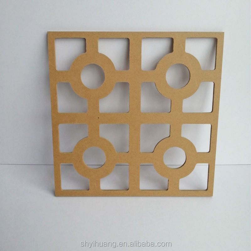carved decorative MDF panels