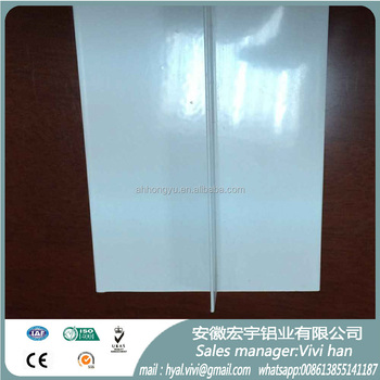 RAL9016 powder coating aluminum profile