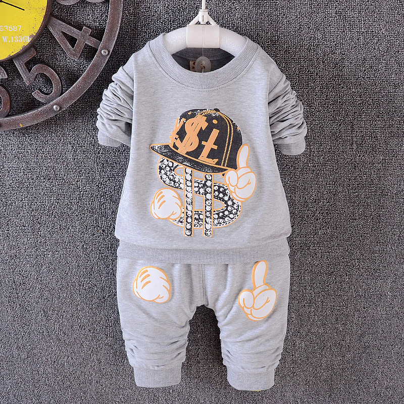 Kid Boy Models Long Sleeve T Shirt And Pants Clothing Set From Alibaba Online Store