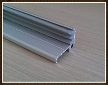 Aluminium Toilet Cubicle Door Stopper Profile