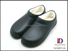 Warm lining inner chef shoes,professional chef shoes