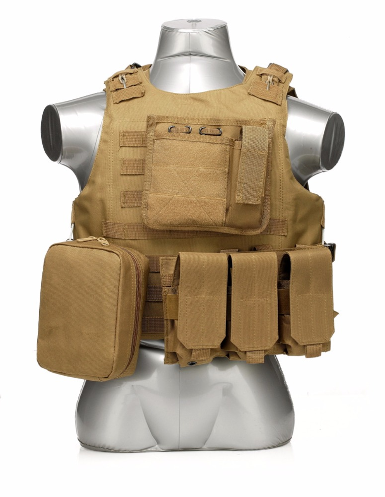 Manufacturer Adjustable Hunting Training Airsoft Tactical Molle Paintball Vest for Outdoor Sport