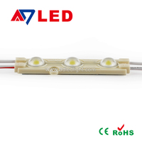 Best selling outdoor waterproof smd5050 led injection module for outdoor advertising light box