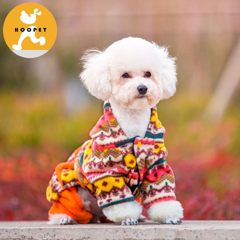 Fashionable hoodie winter dog shirt clothing for pet supplies