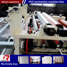 pvc laminated gypsum tiles machine/high quality pvc gypsum ceiling panel board making machine