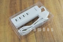 Universal White UK Plug 20W Power Charger Adapter USB Wall Home Travel Portable USB Charger for iPhone 4 5 6 for Blackberry