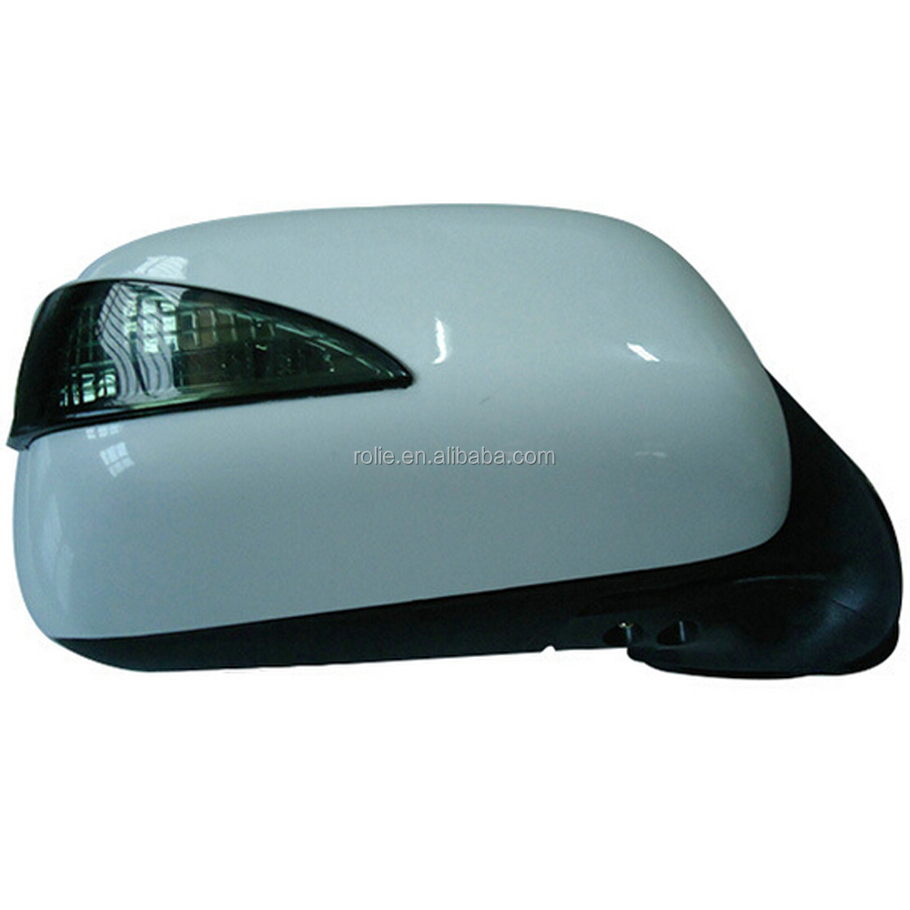 High quality toyota hilux vigo d4d 4X4 yaris car ABS glass side mirror for toyota hilux with factory price