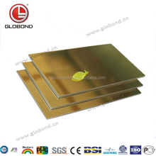 GLOBOND Mirror Finish Aluminium Composite Panel/ Alucobond Materials