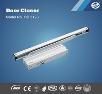Automatic hydraulic concealed sliding door closer
