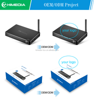 Kodi 15.2 tv box holesale HiMedia H8 android 5.1 Tp RK3368 octa core arabic channels iptv google box with 802.11N WiFi