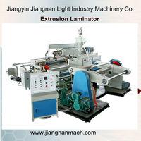china PVC/BOPP/PET Film coating machine supplier flah-spun fabric woven extrusion coating laminating machine