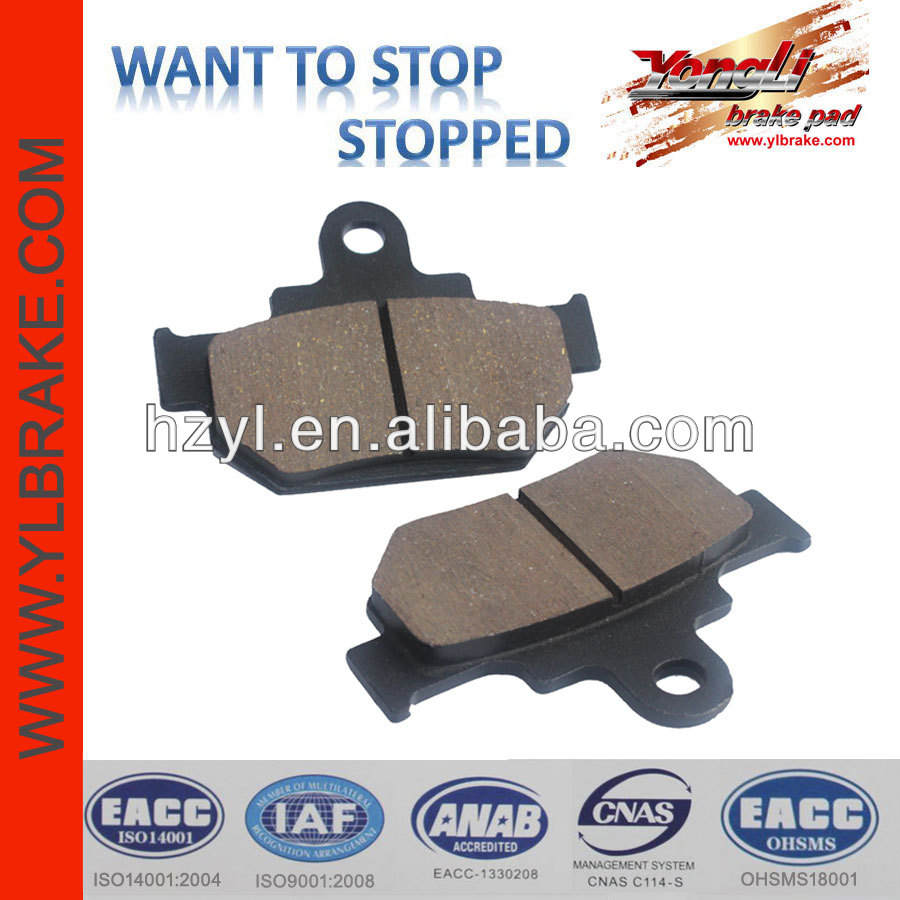 High quality japanese motorcycle brake pad