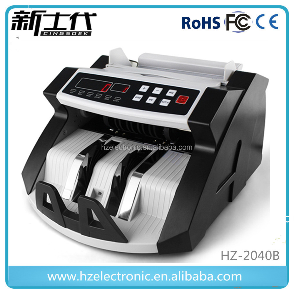 Portable money bill banknote note cash currency counter counting machine