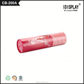 Pink paper round tube packing box