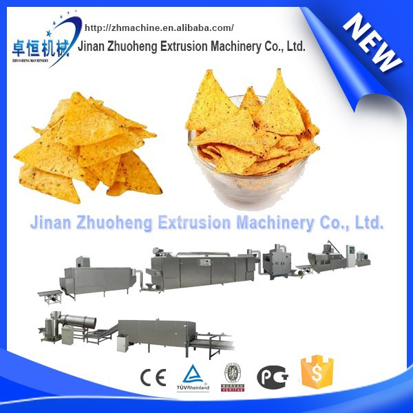 Automatic corn chips doritos chips making machine