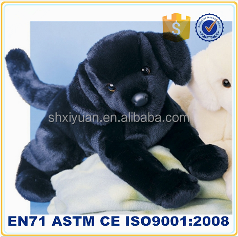 Wholesalers china real stuffed plush dog labrador toy