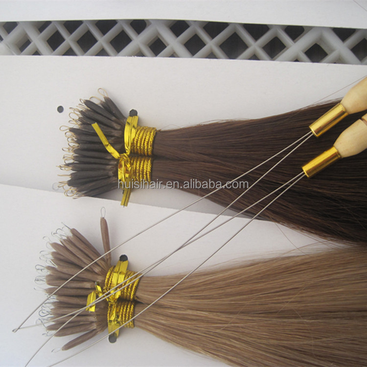 Alibaba golden suppliers pre-bonding hair good feedback best selling nano links hair in Mexico