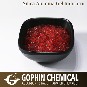Self Indicating Silica Alumina Gel Desiccant