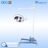 Vertical Type Electrical machine Halogen cold light portable operating room light by CE&ISO Certificated