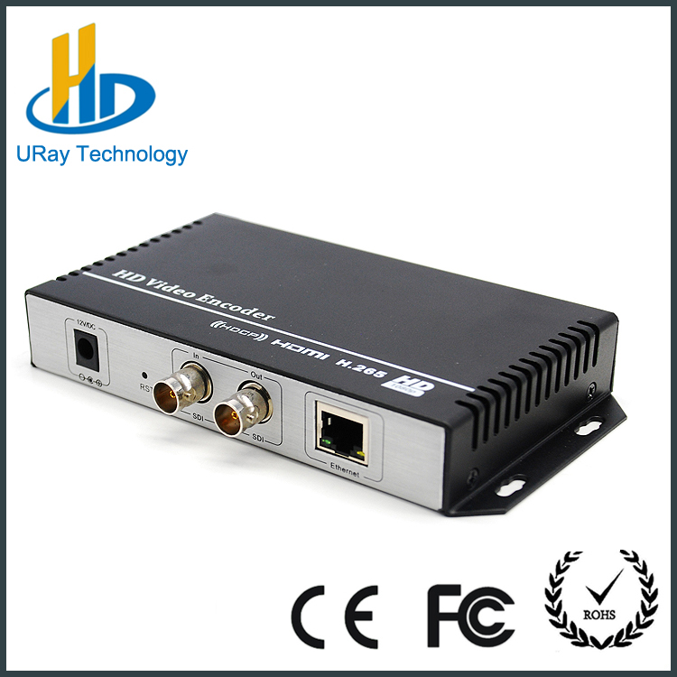 Poratable encoder,single channel hd sdi h.264 iptv streaming encoder for 1080i camera or switcher