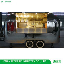 New Design Customized Concession Hot Dog Food Trailer for Sale