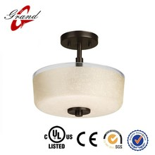 Hot sale flat glass ceiling lamp UL & CE approved