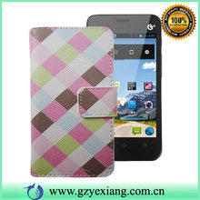 Factory PC/TPU +PU Wallet Design Leather Phone Case For Huawei Y320