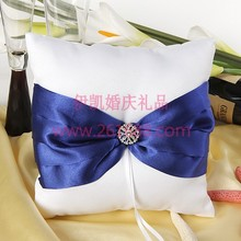 Splendor Royal Blue Ring Pillow Wedding Ceremony In stock ,acceptable small order