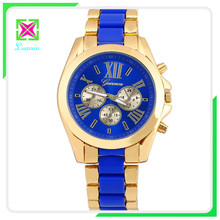promotional advertising quartz watches for lady cheap silicone band women geneva watch