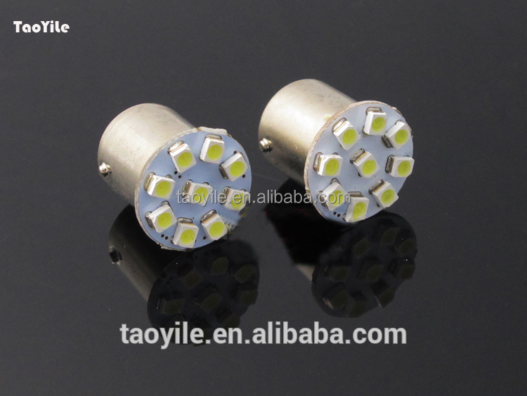 1156 1157 s25 3528 9smd 12V automobile led light auto tuning