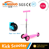 2016 Hot sale 3 wheels mini kick scooter/children scooter for kids