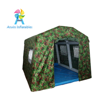 Air sealed Large used inflatable military tent for sale