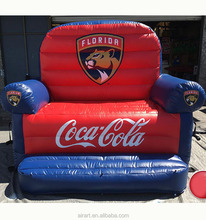 giant inflatable sofa,inflatable air sofa, cheap Inflatable chesterfield sofa