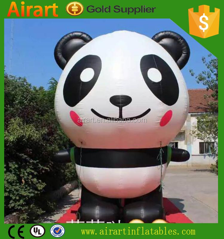 Inflatable Panda, inflatable cartoon balloon for sale