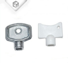 Water vent valve radiator accessory small lock key