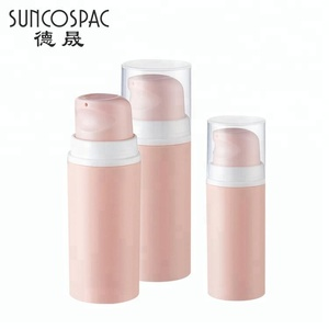 China made pp skin care cosmetic empty 30ml airless lotion bottle