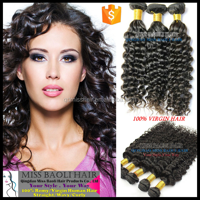 Double Weft 2016 Best Selling Tangle Free No Shedding No Dye Wholesale Factory Price Remy Italian Curl Hair